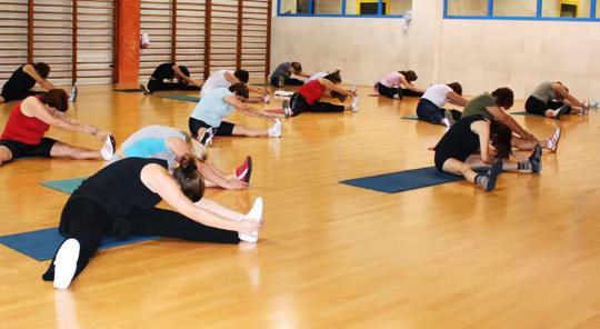 Mantenimendu  gimnasia